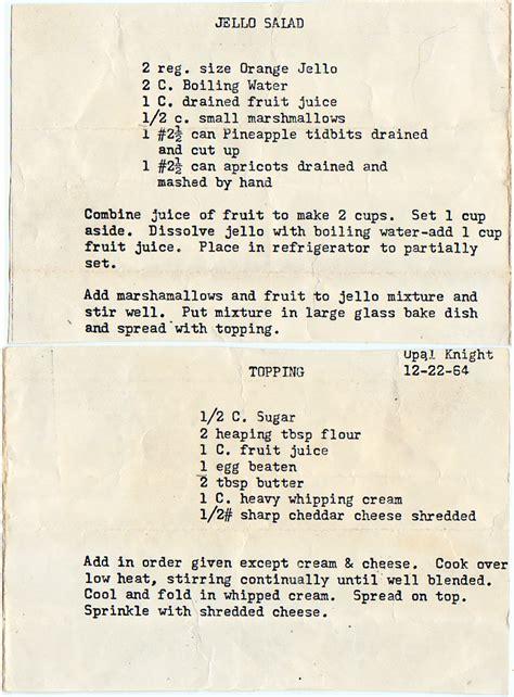 7up fruit salad molded salads yesterdish page 2