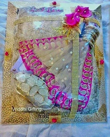 Handmade Saree Packing Trays - how to do saree packing decoration at home saree guide