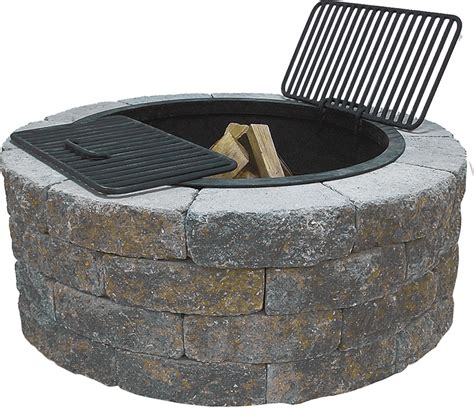 firepit kit buy concrete pit kit garden landscape