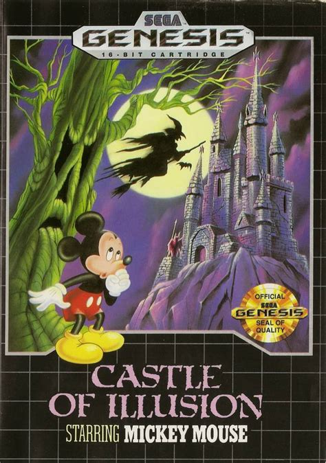 castle of illusion genesis castle of illusion starring mickey mouse usa europe rom