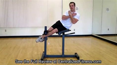 apex roman hyper extension bench apex roman chair hyperextension bench real review youtube