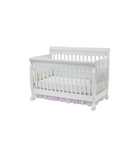 Davinci Kalani 4 In 1 Convertible Crib In White White 4 In 1 Convertible Crib