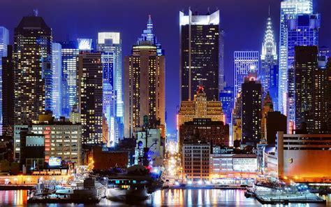 cityscapes night  york city wallpaper