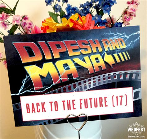 Back To The Future Decorations by Back To The Future Weddings Wedfest