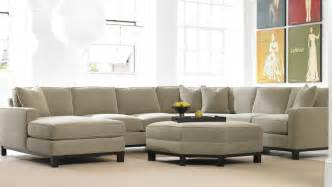 large sofa in small living room modern house