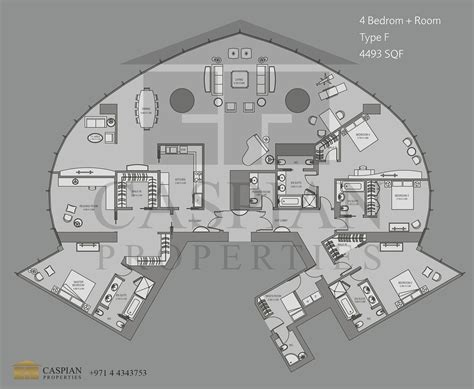 floor plan of burj khalifa burj khalifa tall tower floor plans