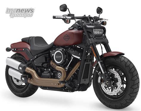 New Fat Bob one of the stars of 2018 Harley range   MCNews