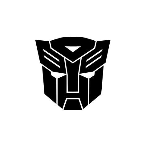 Auto Sticker Transformers by Sticker For Car Autobots Transformers Black Audioledcar