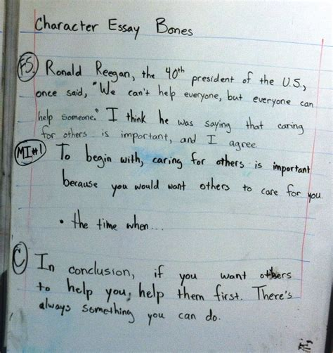 Essay Writing For Elementary Students by Fresh Sle Essays For Elementary Students Resume Daily