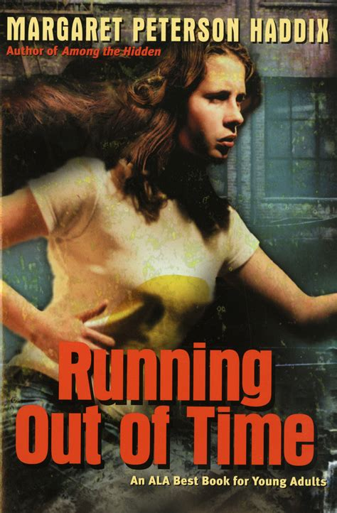 running in the books running out of time book by margaret peterson haddix