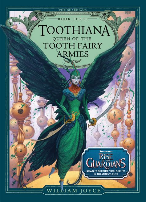 guardians in blue book ii books toothiana of the tooth armies book by