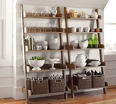badezimmer handtuch hanging ideas studio wall shelf pottery barn