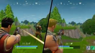 will fortnite be split screen fortnite battle royale split screen duo win