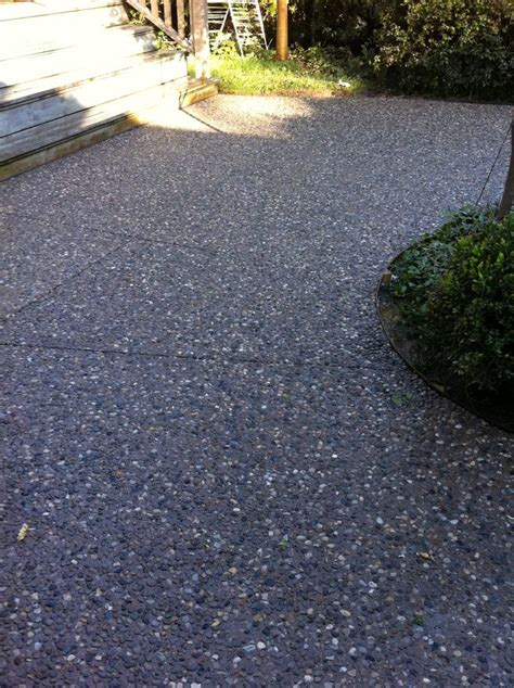 25 best ideas about exposed aggregate on
