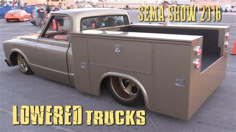 lowered trucks lowered trucks of sema 2016