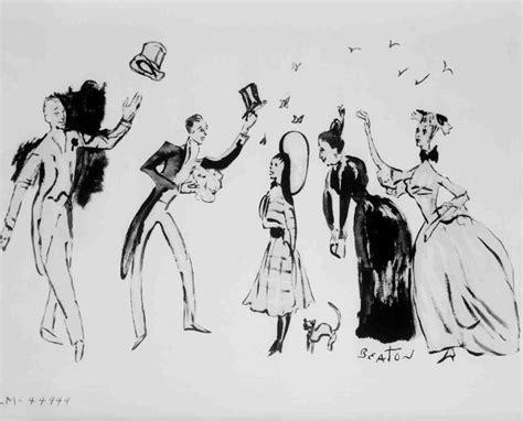 wardrobe sketch by cecil beaton vintage gigi pinterest