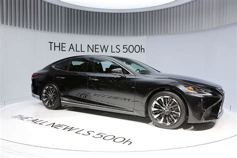 lexus new 2018 the all new 2018 lexus ls 500h gets revealed in geneva