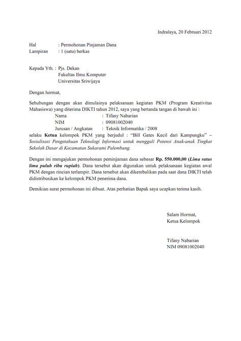 Contoh Surat Penawaran Barang Berupa Komputer by Contoh Surat Penawaran Gedung Cara Ku Mu