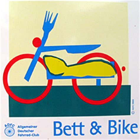 bett und bike deutschland bett bike