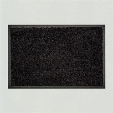 fuss matte fu 223 matte uni schwarz einfarbig waschbar kaufen
