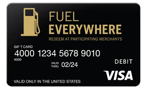 Fuel Gift Card Balance - fuel everywhere