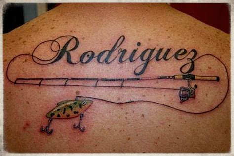 fishing rod tattoo designs fishing pole 2011 best fishing tattoos