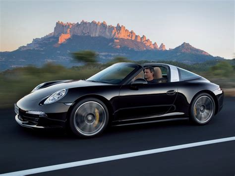porsche black 911 new porsche 911 targa 4 and targa 4s pictures details