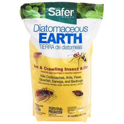 diatomaceous earth for bed bugs amazon com safer brand 51703 diatomaceous earth bed bug