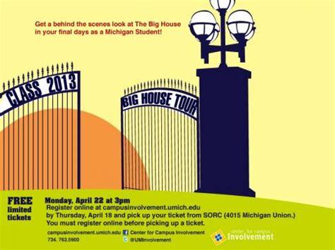 big house tours class of 2013 big house tour cus involvement