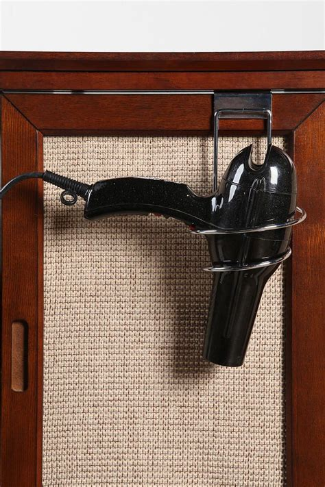 Diy Hair Dryer diy idea hair dryer holder outfitters 12