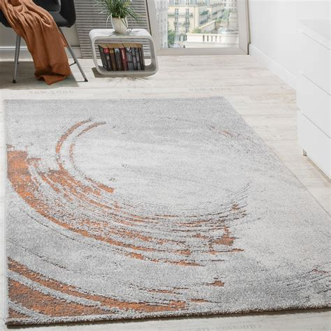 designer rugs in uk classic designer rug high effect relief visual orange flecked with grey carpets pile rugs