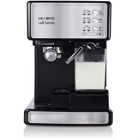 Cafetera Mr Coffee Cafe Barista Capuchino Latte Expresso   $ 5,999.00 en Mercado Libre