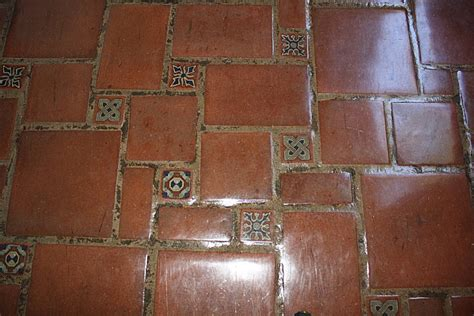 decor tiles and floors decorative tiles as inserts in terracotta clay pavers mexican home decor gallery mission