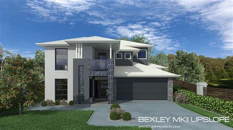 upslope house designs bexley mkii upslope home design tullipan homes