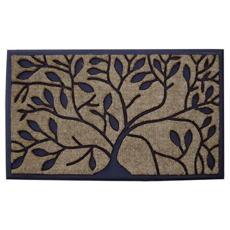 Solemate Doormats solemate door mats 45cm rubber and coir tree door mat reviews zizo