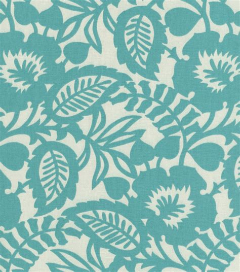 home decor upholstery fabric waverly esmee turquoise