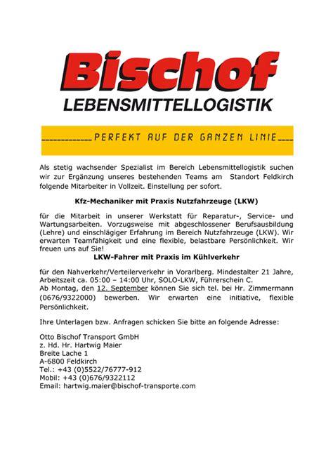 kfz werkstatt feldkirch produktion lager transport in bludenz montafon auf