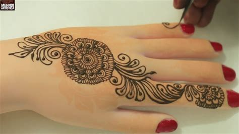 indian mehndi designs  handseasy simple beautiful bel henna mehendimehndiartistica