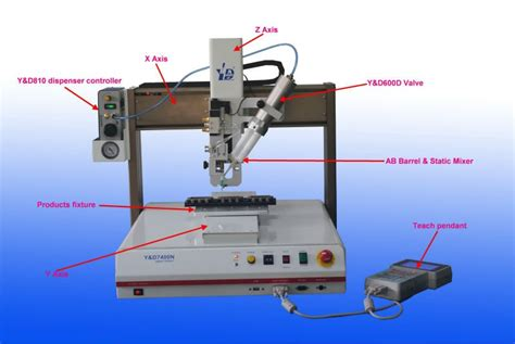 dispense plc desktop ab glue dispensing system plc machine buy plc