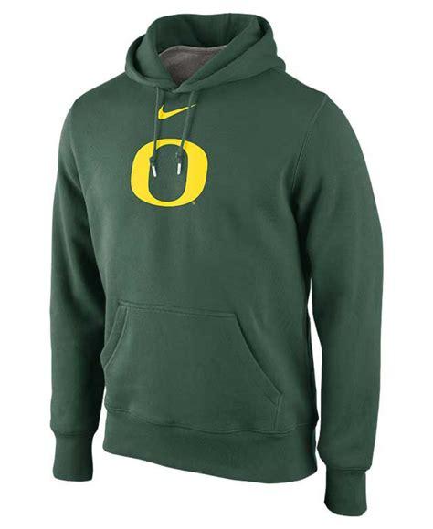 Jaket Sweater Hoodie Oregon Hoodies Home Clothing lyst nike oregon ducks college classic hoodie in green for