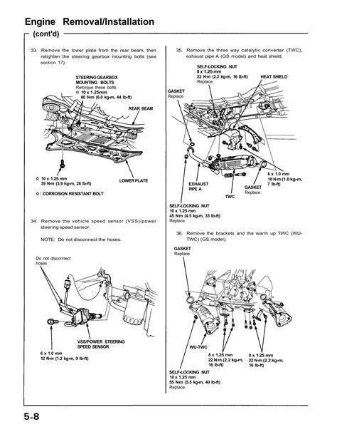 1995 acura legend engine specs 1995 free engine image