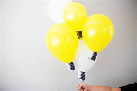 balloon light diy lightbulb balloons all for the boys