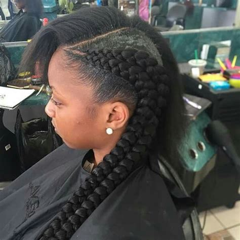 protective styles double braid and girls on pinterest double cornrows dreads braids ponytails more
