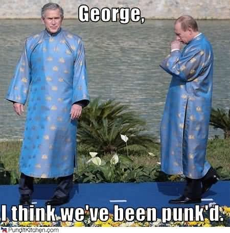 Marc Has Been Punkd by 30 Most George Bush Meme Pictures And Photos