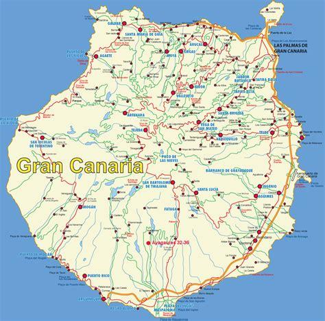porto gran canaria map gran canaria