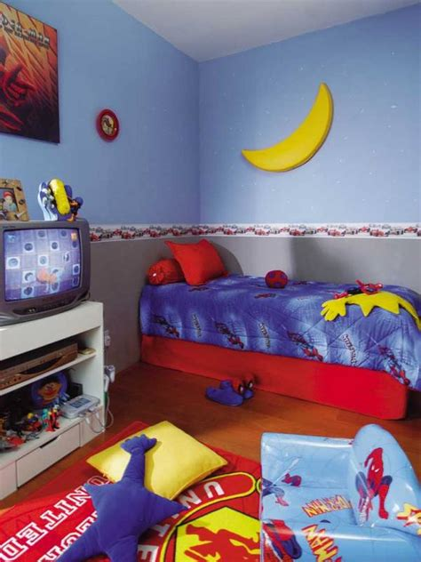desain keren kamar tidur anak laki laki rumahku unik