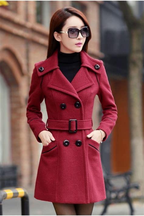 Jaket Wanita Js 280 jaket musim dingin big size trendy coat jyy439 6898red coat korea