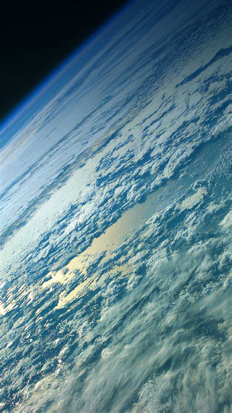 green earth space smartphone wallpaper getphotos