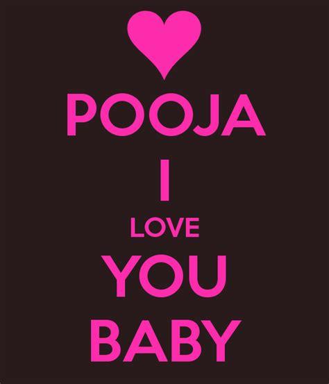 pooja  love  baby poster shivam  calm  matic