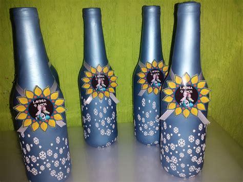 decoração em garrafa bexiga garrafas encapadas bexigas art 180 s edna elo7